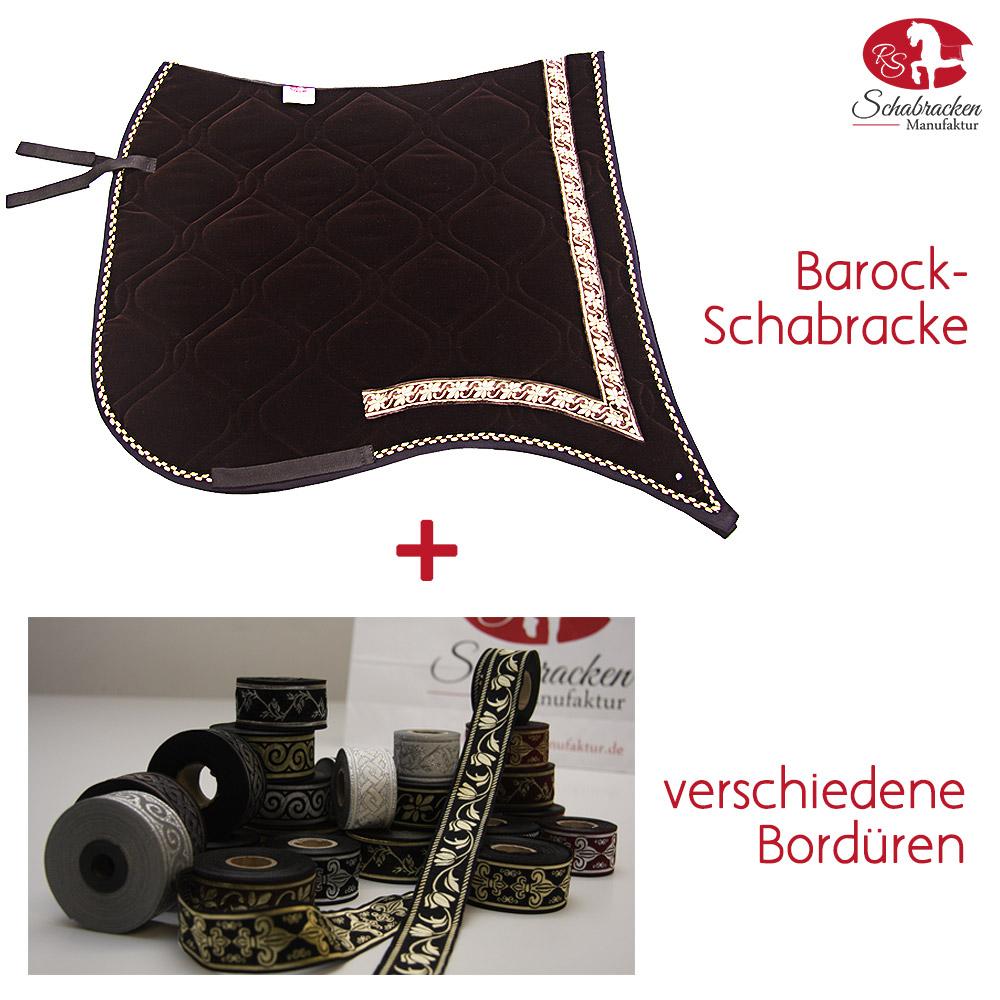 Premium schabracke braun rs schabracken manufaktur - Schabracke braun ...